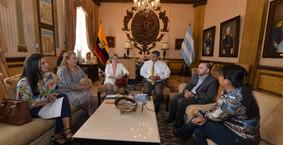 HGSCA Representatives Met with the Mayor's Office, the Ecuadorian Red Cross, Casa Ronald McDonal