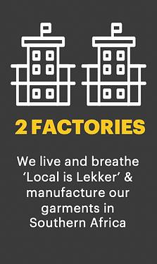 Vulcan Workwear has 2 Factories