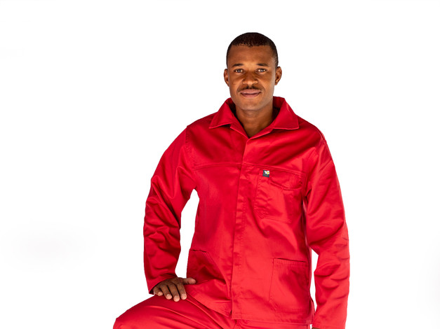 65:35 Polycotton Conti Suit (Red