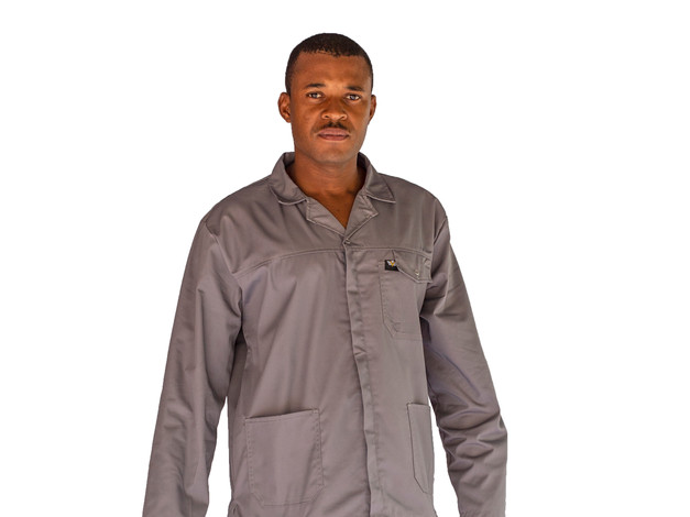 65:35 Polycotton Conti Suit (Grey)