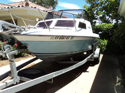 Boat After Wash and Wax