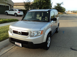 Honda Element After Wash and Wax