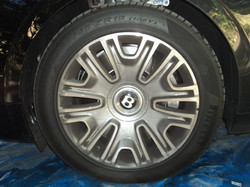 Bentley Before Rim and Tire