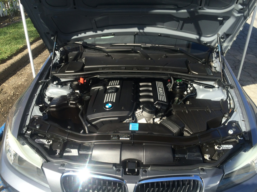 BMW After Engine Detail