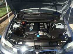 BMW After Engine Detail