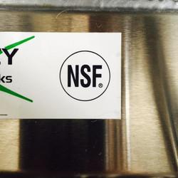 NSF Sticker