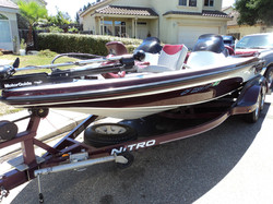 After Detail on Nitro Boat
