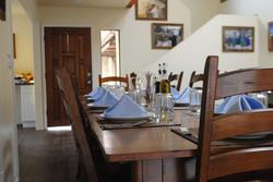 Back House Dinner Table