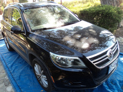 VW SUV Before Detail