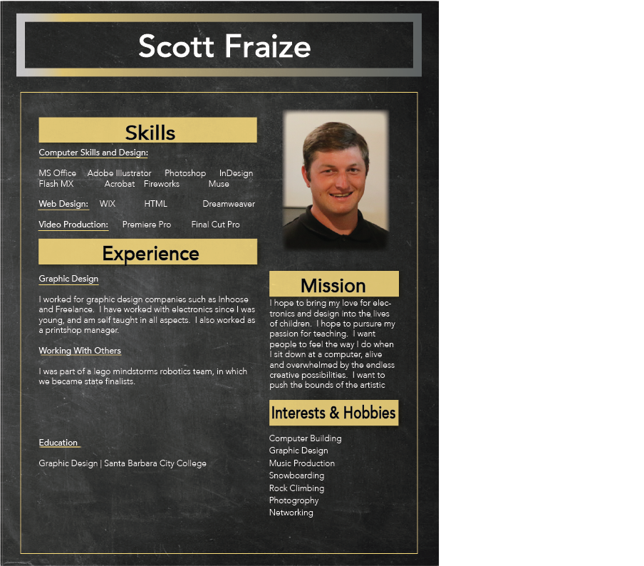 Scott Fraize, Tech Support, Computer Troubleshooting, Computer Programming, Software, Microsoft Office, Photoshop, WIX, Adobe Illustrator, Graphic Design, HTML, Dreamweaver, Flash MX, Muse, InDesign, Premiere Pro, Final Cut Pro, Printshop, Tutor, Teacer