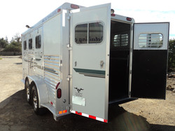 Horse Trailer Inside and Out Detail