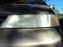 Headlight Restoration Before