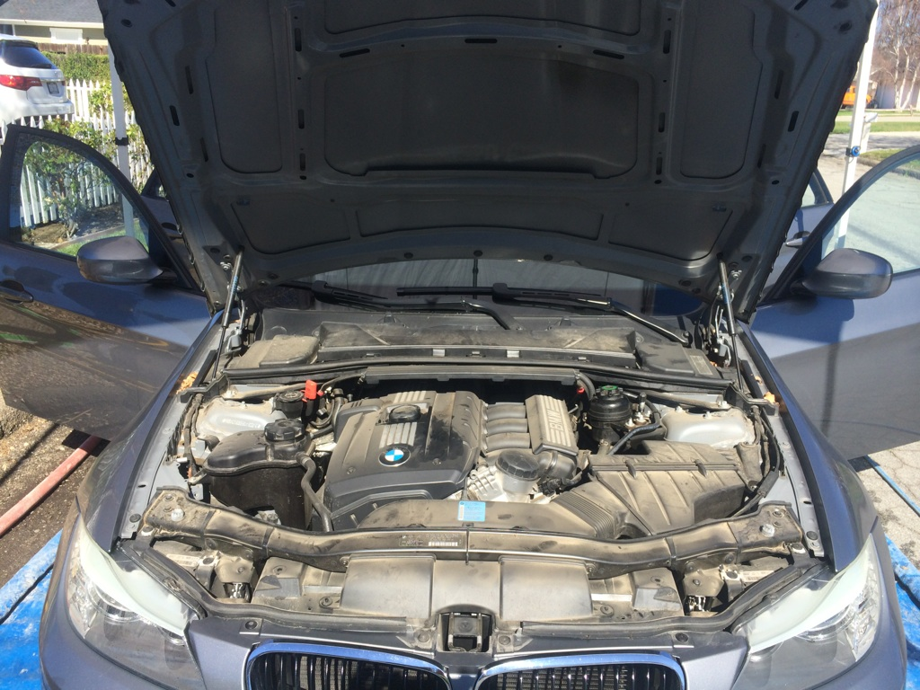 BMW Before Engine Detail
