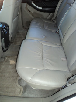 After Leather and Carpet Clean