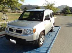 Honda Element Before Wash