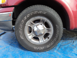 Before Rim and Tire (Rusted)