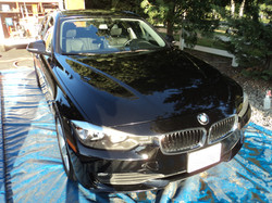 After Wash and Wax on BMW