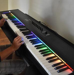 Amenities, Macbook Pro, Beats Solo Headphones, iPad Pro, Keyboard Piano, Bizhub Premium Printer, Roland Drums, Art Lessons, iMacs, Music Lessons