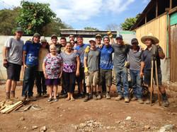 With Vasquez Family on Jobsite