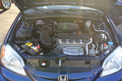 Honda Civic After Engine Detail