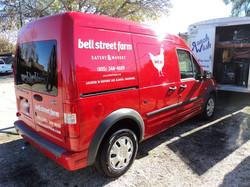 The Bell Street Farm Van After