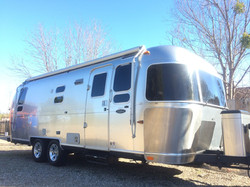 Airstream Trailer - Washed and Waxed