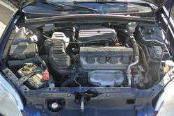 Honda Civic Before Engine Detail