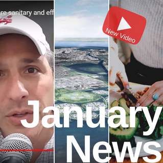 January News | Bill Spadea, Floating Cities, Planetary Health Diet