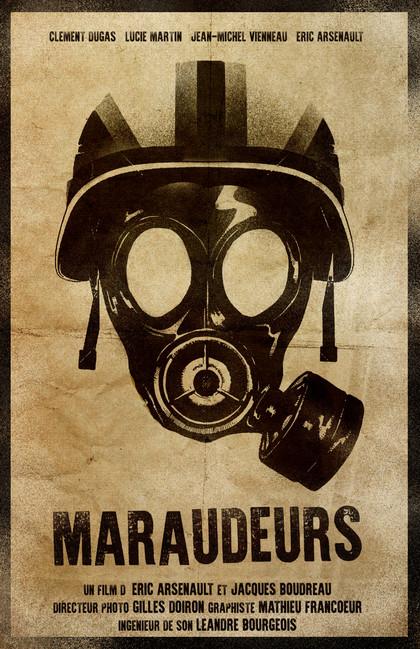 Maraudeurs Helmet Mask Stencil Poster.jp
