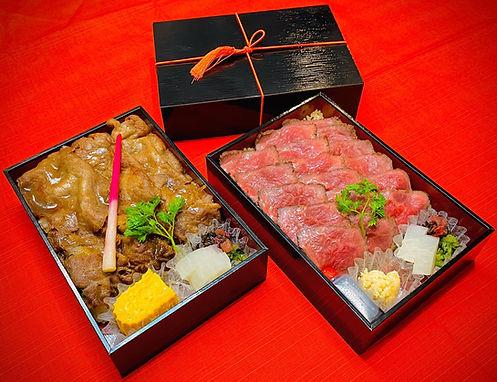 すき焼弁当・ローストビーフ弁当画像