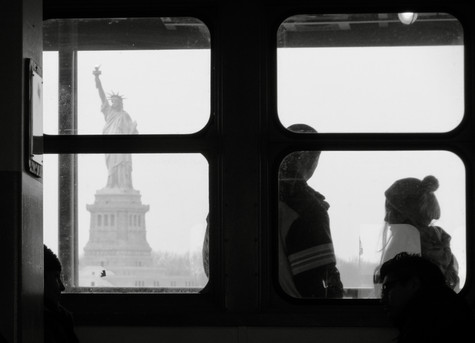 liberty through the window