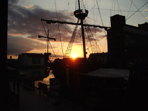 boats. gdansk