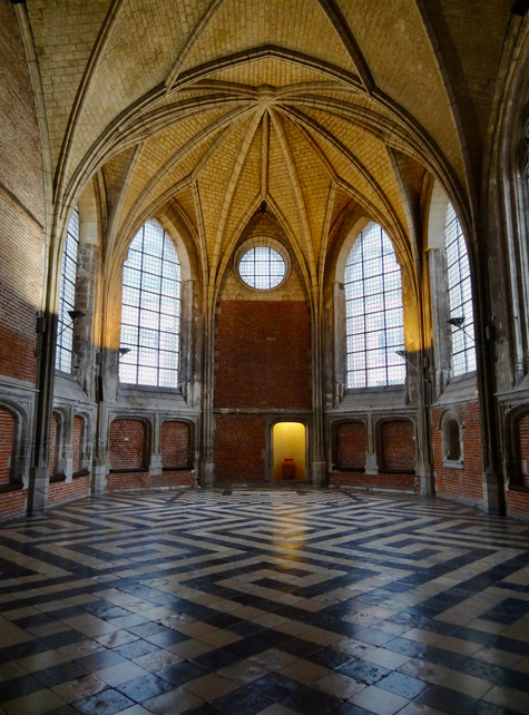 lattice floor. lille