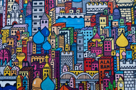city scape. london