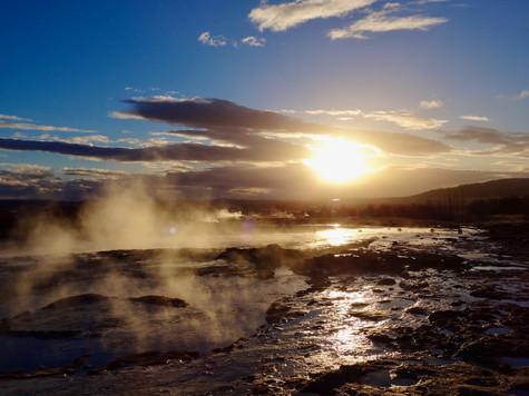 geyser. reykjavik