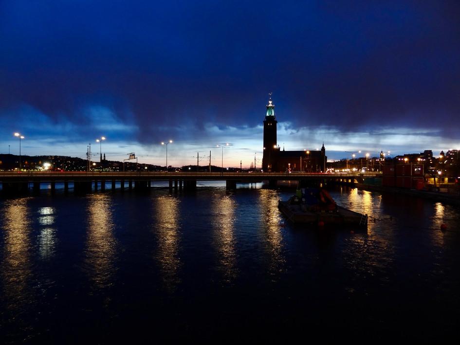 city hall. stockholm
