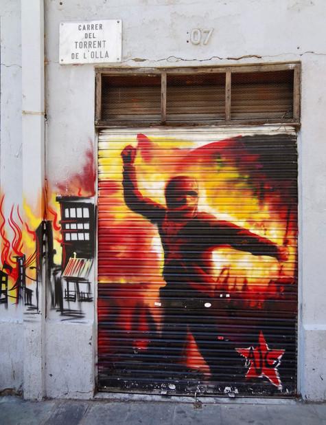 anarchy. barcelona