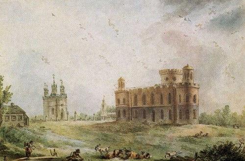 «Чесменский дворец близ Петербурга»; Ж.