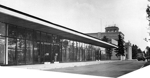 новое здание аэровокзала «Шоссейная»