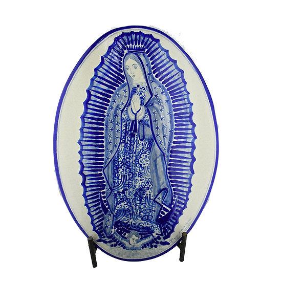 Medallón Vírgen de Guadalupe