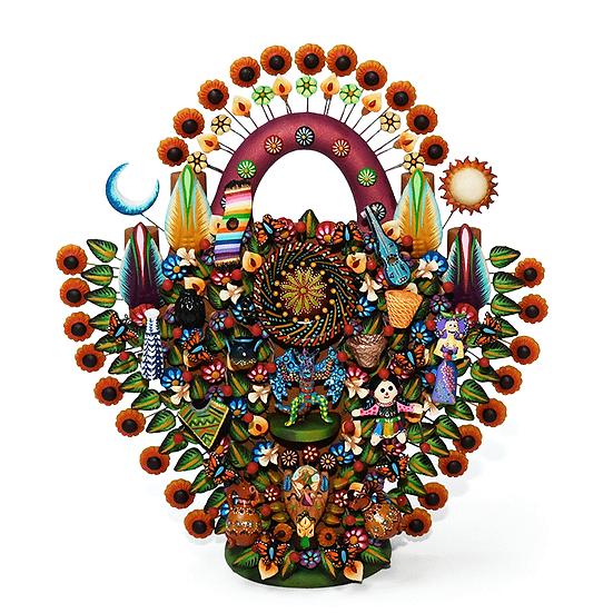 Árbol de la vida: Artesanías Mexicanas