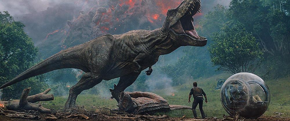 Jurassic World: Fallen Kingdom film review UK