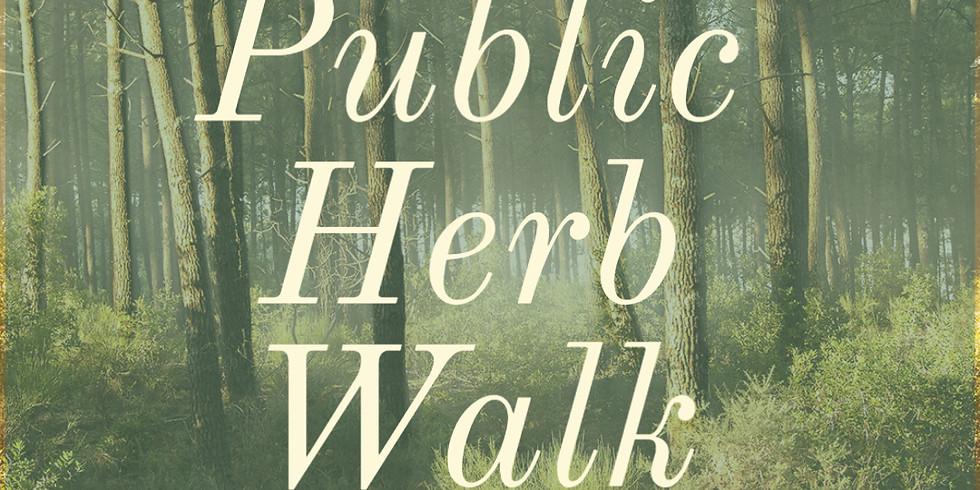 Public Herb Walk