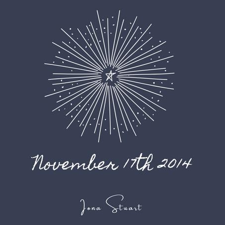 November 17th 2014 - Poetry