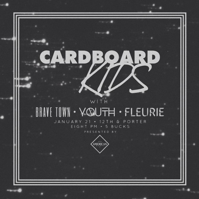 "Cardboard Kids debut LP ""Echo Boomer"" lands on ""Best of 2014"" lists"