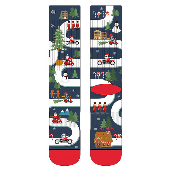XPOOOS The Art of Socks Herren / unisex Weihnachtsspezial