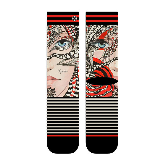 XPOOOS The Art of Socks Damen