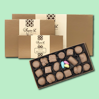 Assorted Milk Chocolates Gift Boxes
