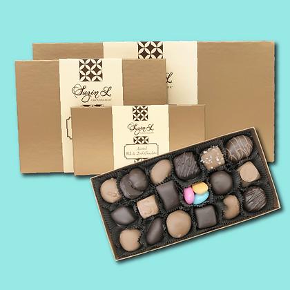 Assorted Milk & Dark Chocolates Gift Boxes