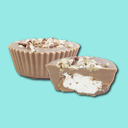 Large Pecan Mallo Cup